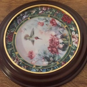 Vintage collectors plate by Lena Lou The Anna's